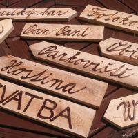 Šipka, dřevo, na zavěšení