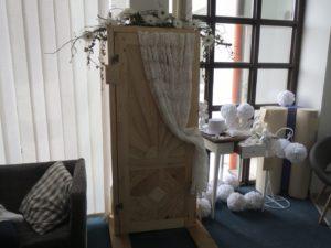 Dveře dřevěné, otevírací