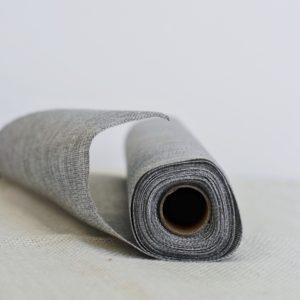 Jutový běhoun šedý, 36cm x 5m