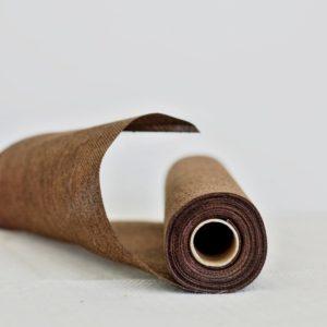 Jutový běhoun tmavě hnědý 36cm, 5m, k dispozici 7 ks