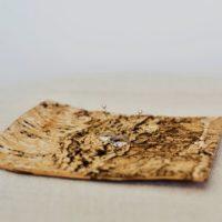 Podložka pod prstýnky březová kůra, možno dozdobit