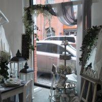 Textilie - šifon na slavobránu, stůl, šedá, 5m-2