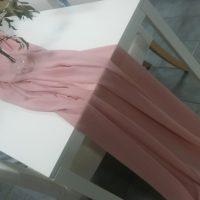 Textilie - šifon na stůl, starorůžová, 3m