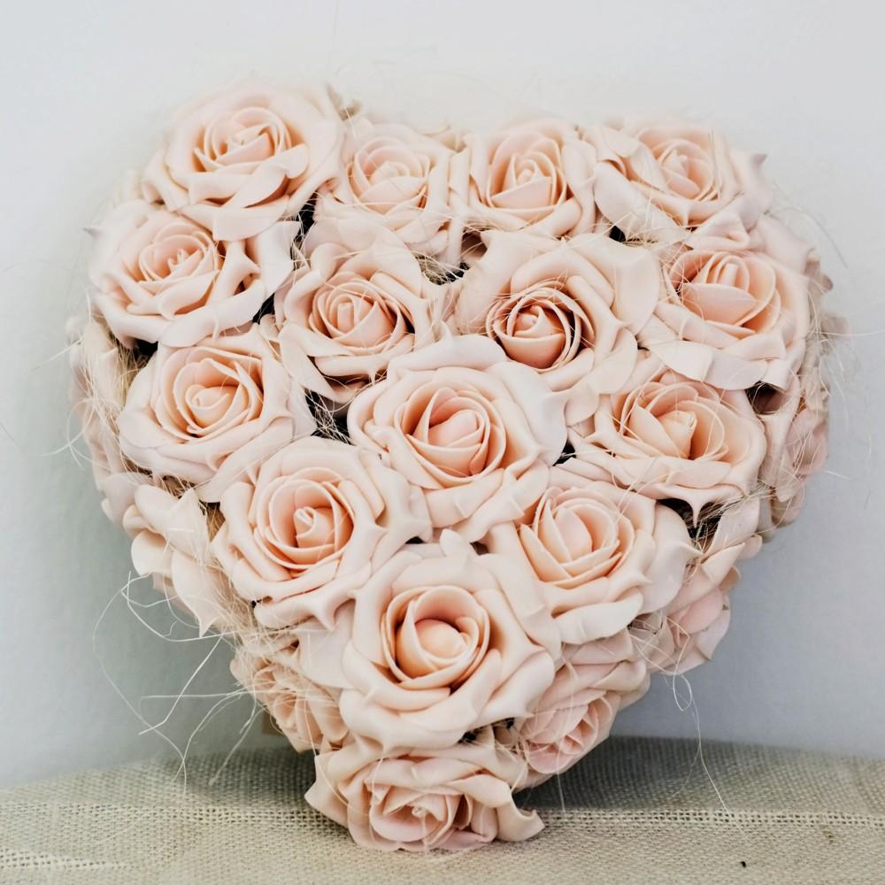 Srdce s přísavkami, lososové růže